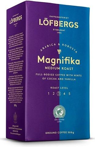 Кофе молотый Lofbergs Magnifika (3) 500г