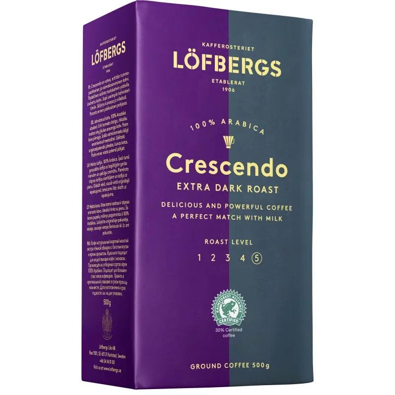 Кофе молотый Lofbergs Crescendo (5) 500г