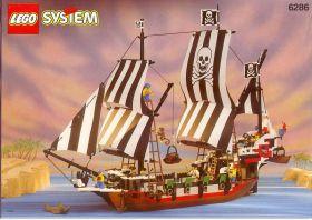"""6286 Лего Пиратский корабль """"Черный Череп"""""""