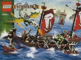 7048 Лего Боевой корабль орков