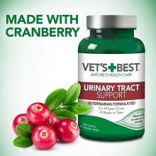 Vet's Best Urinary Tract Support  - (Уринари тракт суппорт для кошек) - 60 жевательных таблеток)