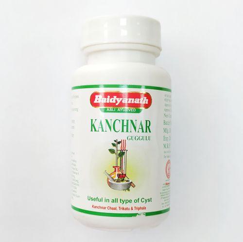 Канчанар (канчнар) гуггул | Kanchnar Guggulu | 80 таб. | Baidyanath
