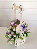 букет скрипка