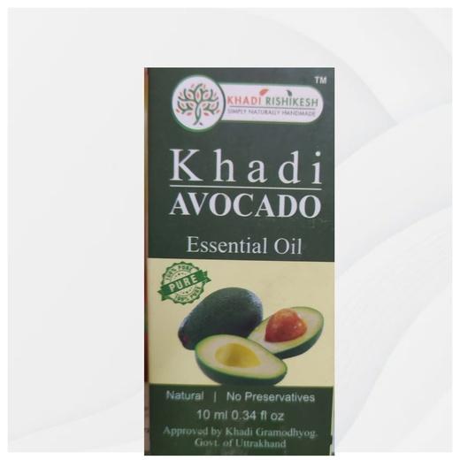 ЭФИРНОЕ МАСЛО Авокадо 100% ,10 ml Khadi