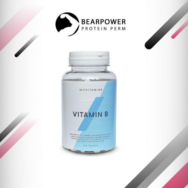 Витамины группы B 120 таб.