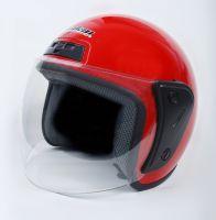 Шлем открытый Jiekai 202 red фото 3