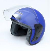 Шлем открытый Jiekai 202 blue petrol фото 3