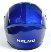 Шлем детский интеграл Helmo 02 Blue фото 4