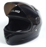Шлем детский интеграл Helmo 02 Black фото 3