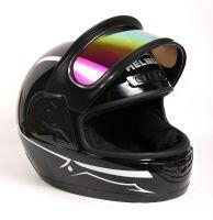 Шлем интеграл Helmo Double Glass Black-Blue фото 6