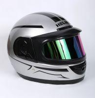 Шлем интеграл Helmo Double Glass Silver фото 2