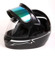 Шлем интеграл Helmo Double Glass Silver фото 7