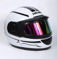 Шлем интеграл Helmo Double Glass White фотоШлем интеграл Helmo Double Glass White фото 2