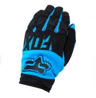 Fox Blue Black  перчатки взрослые фото 1