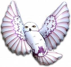 Шар (38''/97 см) Фигура, Полярная сова, 1 шт.