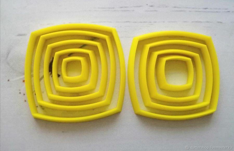 Набор каттеров для полимерной глины #46
