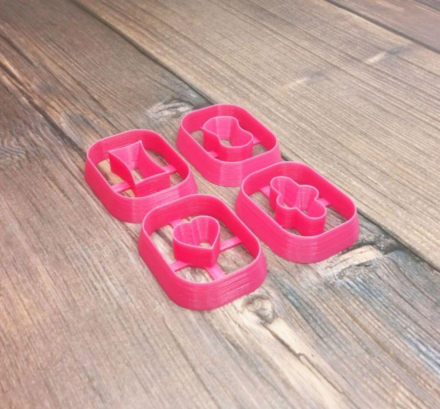 Каттеры для полимерной глины №74