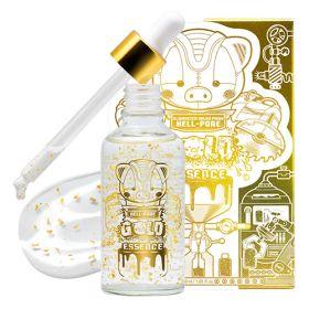 ELIZAVECCA Milky Piggy Hell-Pore Gold Essence 50ml - Увлажняющая омолаживающая эссенция с 24-каратным золотом
