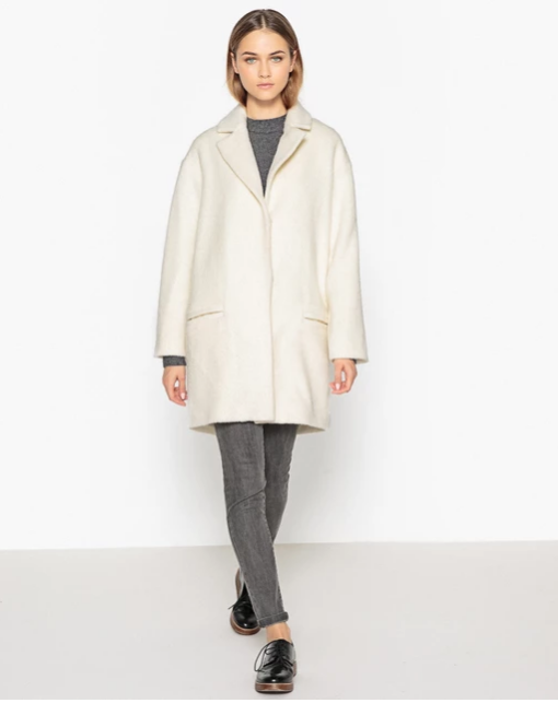 Пальто покроя оверсайз- La Redoute Collections