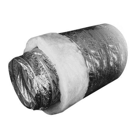 Воздуховод гибкий звукопоглощающий, d254х10 м