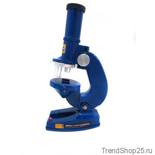 Детский микроскоп 2 в 1 с подсветкой