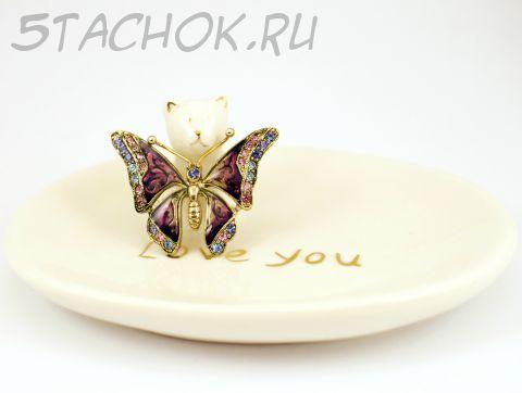 Брошь Бабочка (LC Liz Claiborne США)