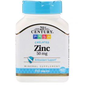 21st Century Цинк 50 мг 110 таблеток