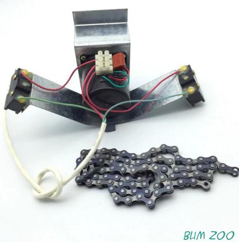 Мотор для переворота яиц с цепью.