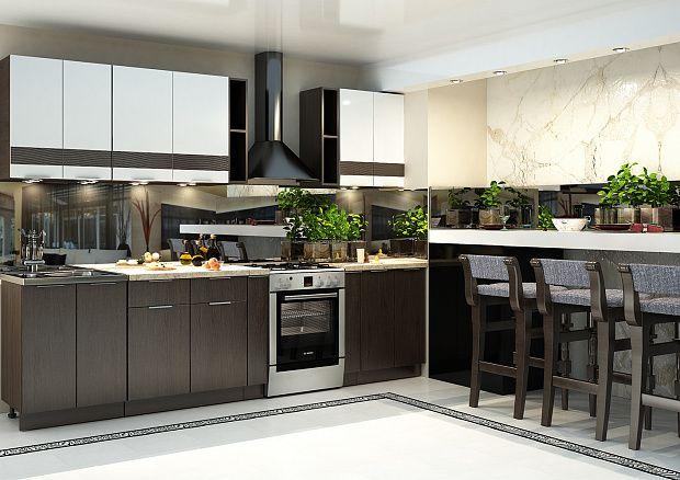 Кухня «Терра gloss»
