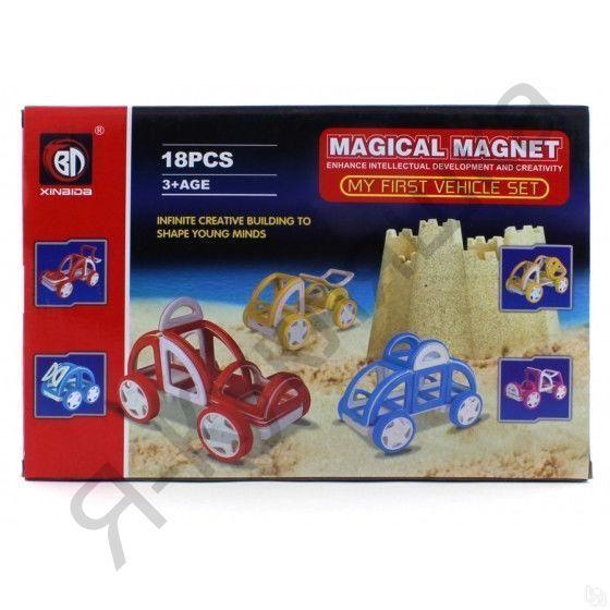 Магнитный конструктор Magical Magnet из 18 деталей