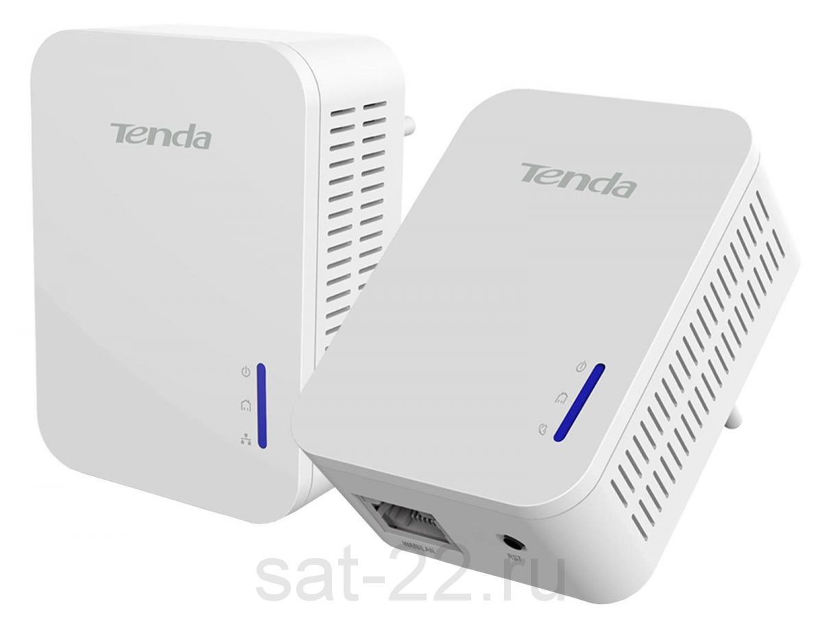 Комплект адаптеров powerline TENDA P200Kit