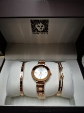 Набор женский: Часы №2 + 2 браслета Anne Klein