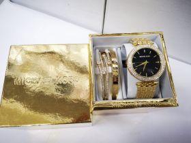 Набор женский: Часы №3 + 2 браслета Michael Kors