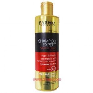 Шампунь FASMC c Argan/Keratin 8 в 1 для жирных волос