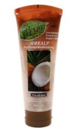 Скраб для лица Wokali Smoothing moisturising кокос