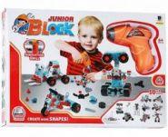 Конструктор Junior Block 286 деталей.