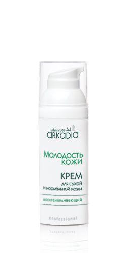 Восстанавливающий крем для сухой и нормальной кожи МК