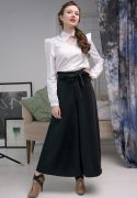широкая юбка-брюки