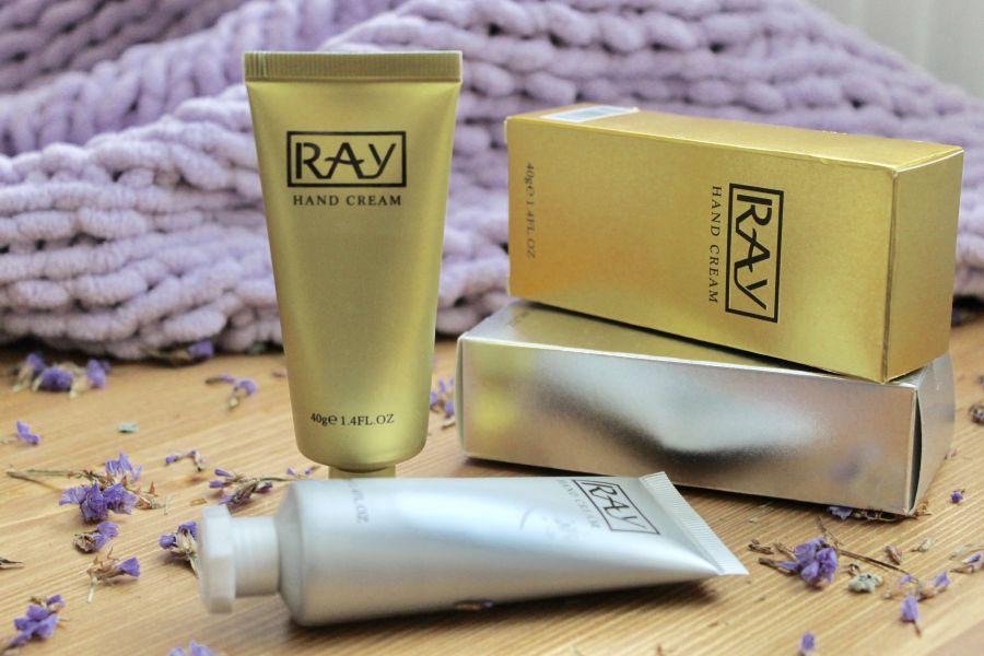 Крем для рук RAY золотой Таиланд