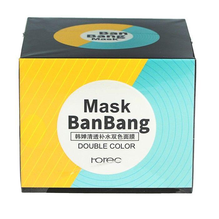 BanBang Mask - двойная маска для очищения Т-зоны и подтяжки овала лица от Bioaqua