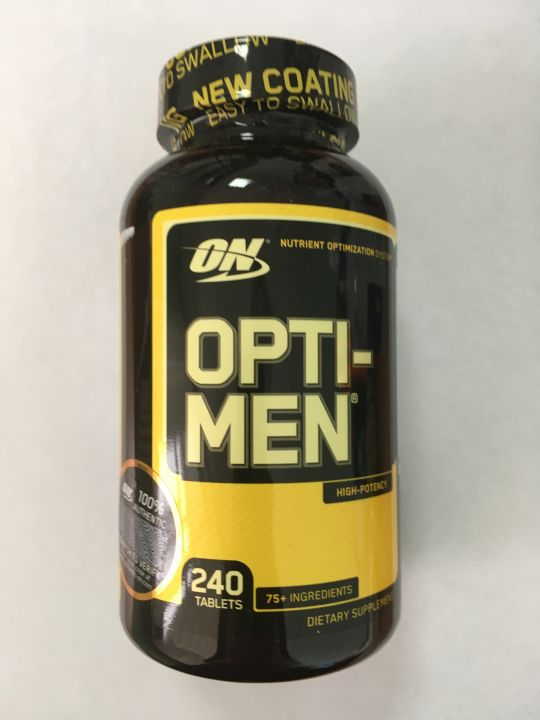 Витамины Opti-Men (Optimum Nutrition) 240 таб