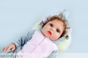 Кукла реборн  ЭЛЛА-  ЭКСКЛЮЗИВНАЯ МОДЕЛЬ ТОЛЬКО У НАС!!!