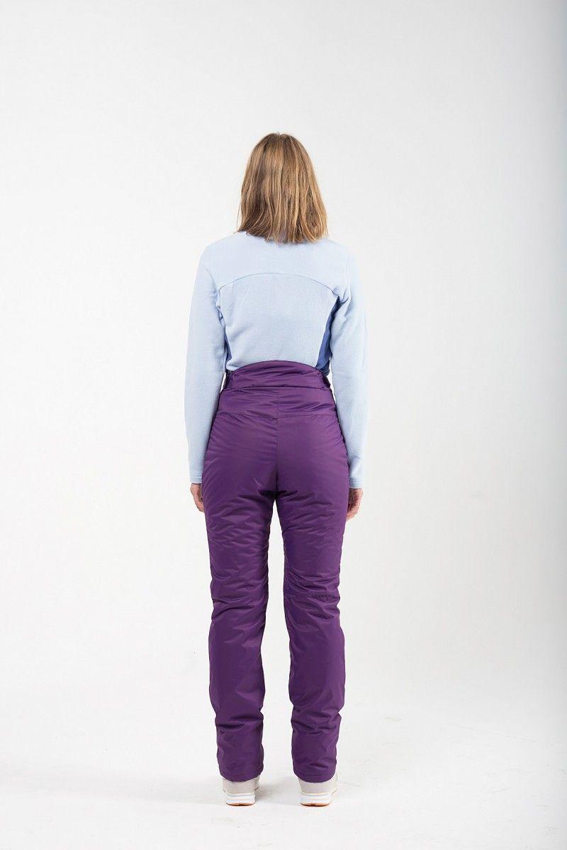 Утепленные женские брюки мембрана фиолетовый HEIDEN вид4