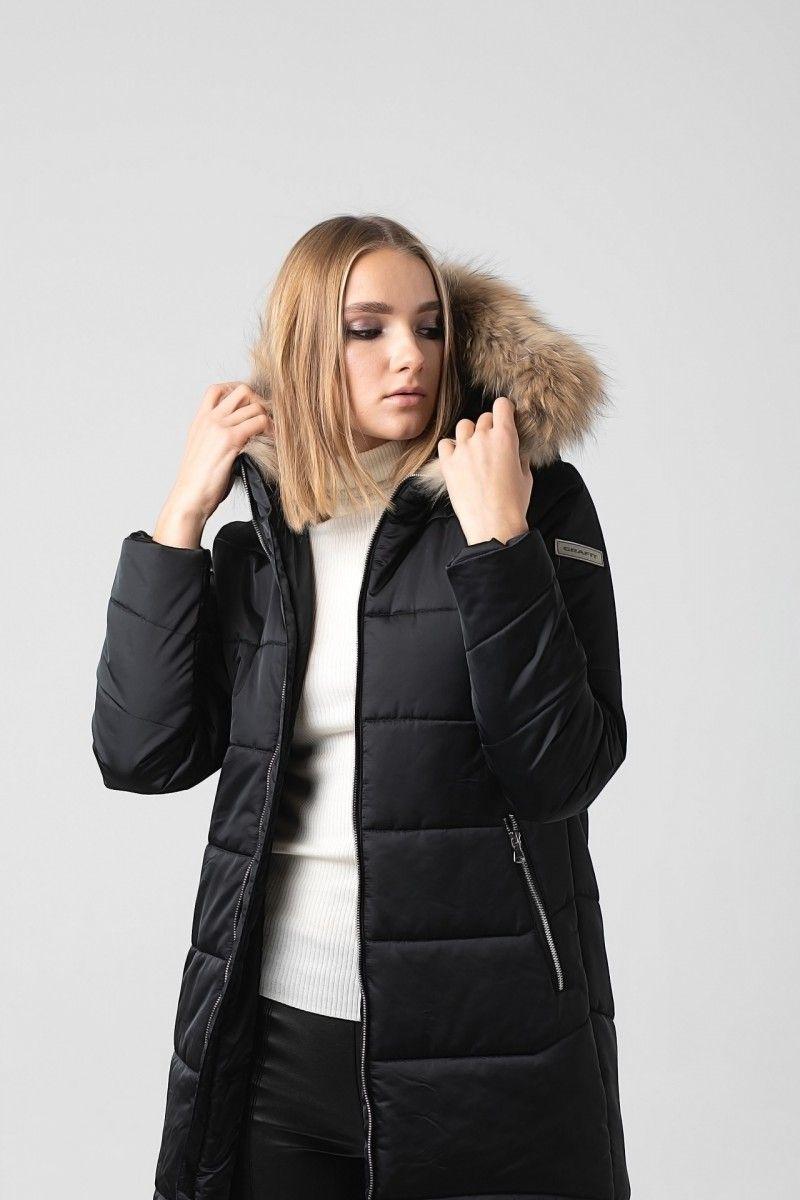 Пальто женское HEIDEN цвет черный вид2