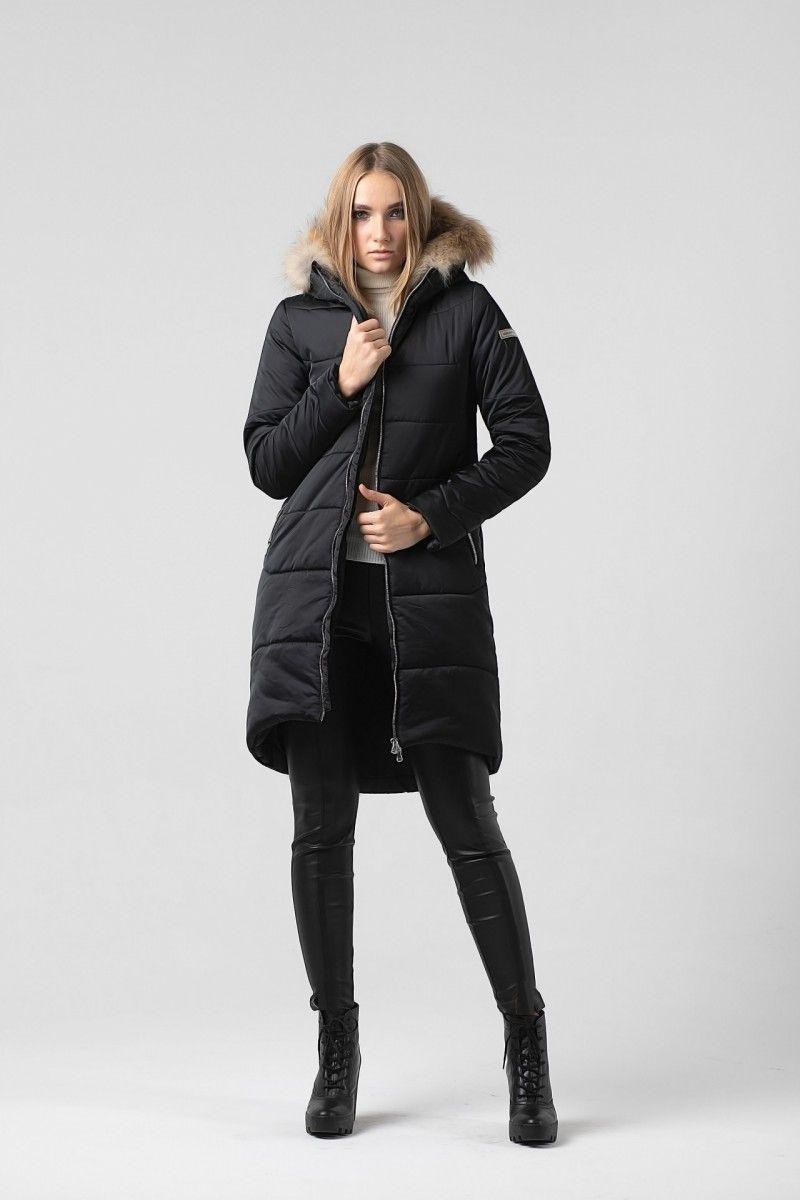 Пальто женское HEIDEN цвет черный вид3