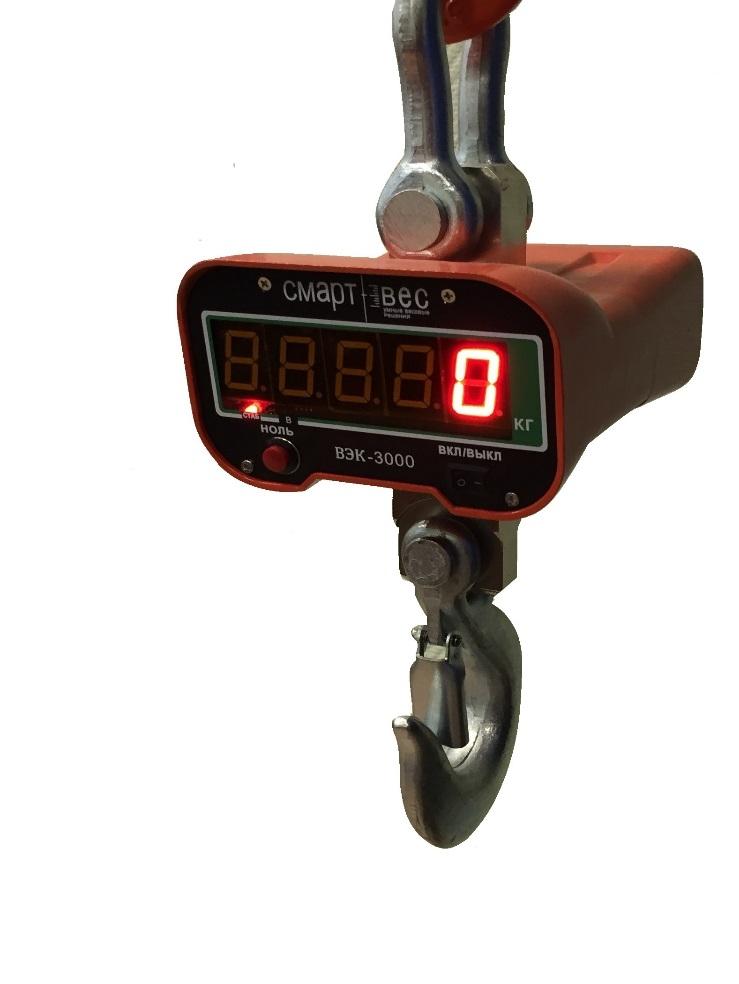 Весы крановые электронные ВЭК-10000 Лайт