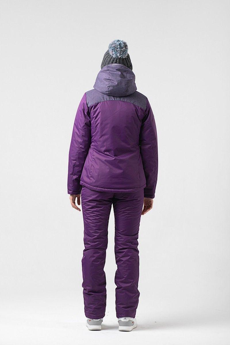 Зимний женский костюм фиолетовый HEIDEN вид3