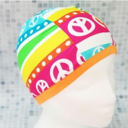 Узор 4 Текстильная шапочка для плавания