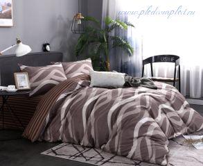 Комплект постельного белья сатин подарочный (модель 61)