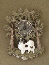 Японский хин часы настенные Чехия